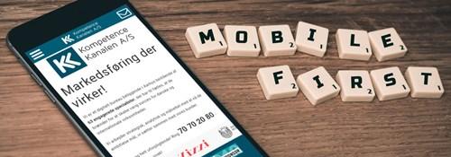 Mobile-First indeksering bliver nu standard på alle nye hjemmesider