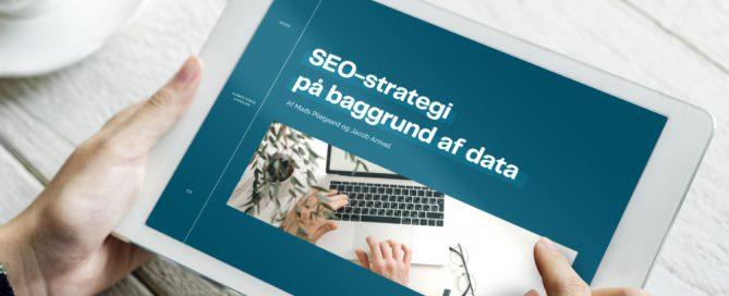 SEO-strategi på baggrund af data | Whitepaper