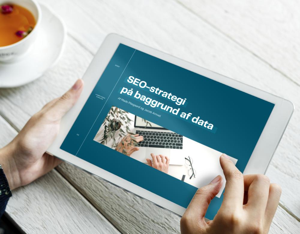 SEO-strategi på baggrund af data